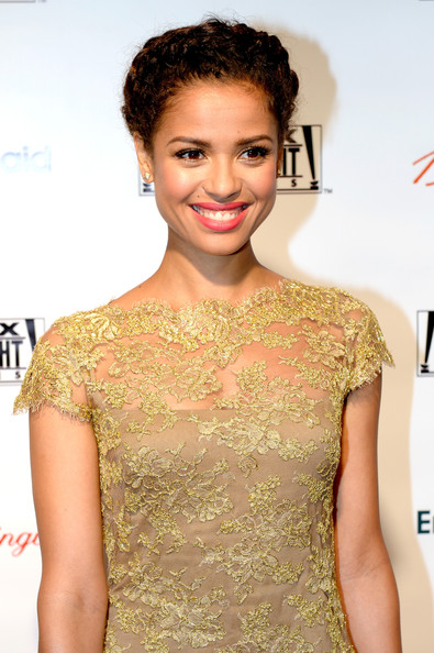 Gugu Mbatha-Raw Braided Updo
