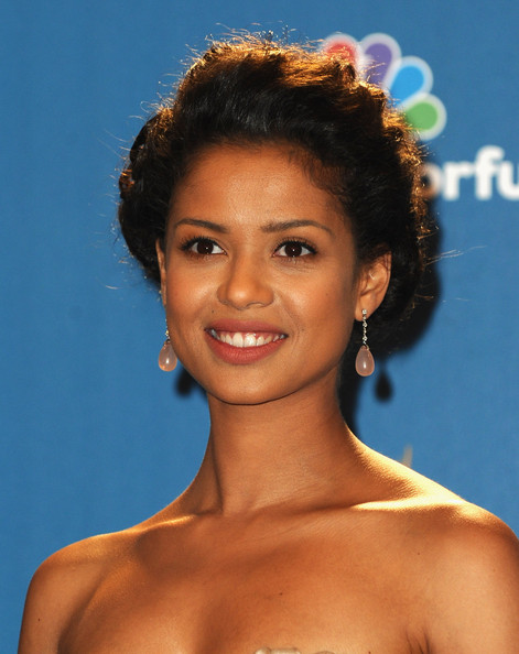 Gugu Mbatha-Raw Loose Bun
