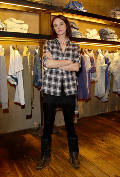 More Pics of Asia Argento Mid-Calf Boots (1 of 8) - Asia Argento Lookbook - StyleBistro