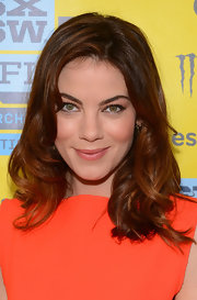 Michelle Monaghan opted for basic curls for her red carpet look at 2013 South by Southwest.