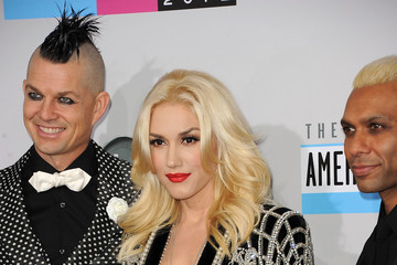 Gwen Stefani Adrian Young The 40th American Music Awards - Arrivals