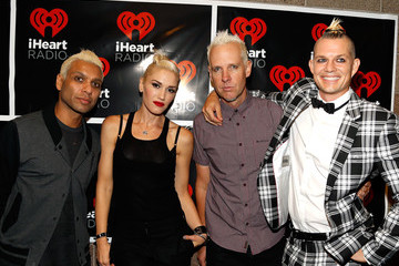 Gwen Stefani Adrian Young 2012 iHeartRadio Music Festival - Day 1 - Backstage