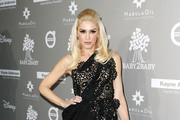 Gwen Stefani One Shoulder Dress
