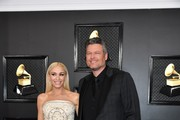 Gwen Stefani Strapless Dress
