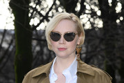 Gwendoline Christie Floating Lens Sunglasses