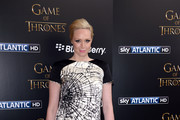Gwendoline Christie Print Dress