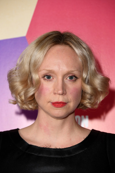 Gwendoline Christie Curled Out Bob [image,hair,eyebrow,blond,human hair color,beauty,hairstyle,chin,head,cheek,forehead,gwendoline christie,in fabric,fabric,hair,eyebrow,uk,london,bfi london film festival,premiere,gwendoline christie,game of thrones,united kingdom,bfi london film festival,actor,model,national youth theatre,2018,image]