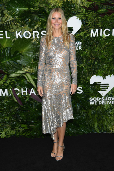 Gwyneth Paltrow Sequin Dress