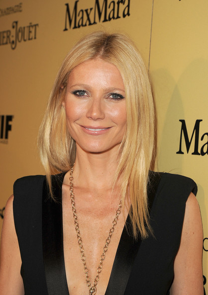 Gwyneth Paltrow Long Center Part