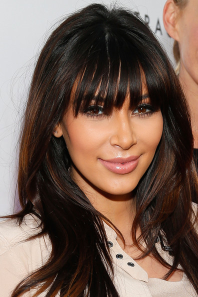 Kim Kardashian: With Bangs