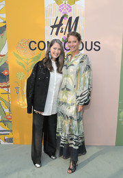 Christy Turlington was boho-chic in a flowing print dress at the 2018 H&M Conscious Exclusive collection celebration.