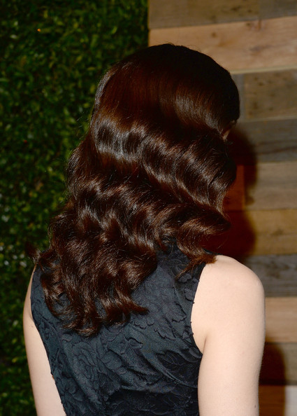 More Pics of Emmy Rossum Medium Wavy Cut (1 of 25) - Medium Wavy Cut Lookbook - StyleBistro