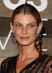 Angela Lindvall went for a youthful vibe with this side braid when she attended the H&M Conscious Collection dinner.