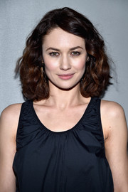 Olga Kurylenko framed her pretty face with this curled-out bob for the H&M fashion show.