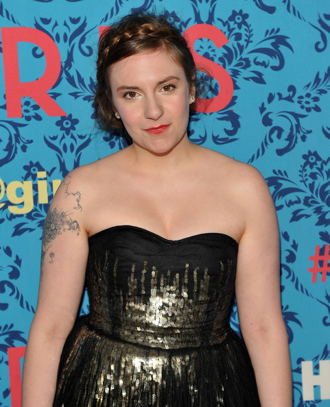 More Pics of Lena Dunham Diamond Studs (3 of 6) - Lena Dunham Lookbook - StyleBistro