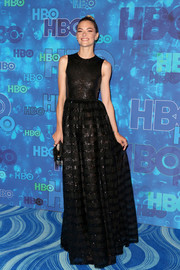 Jaime King looked supremely elegant in a shimmery black gown by Huishan Zhang during HBO's post-Emmy reception.