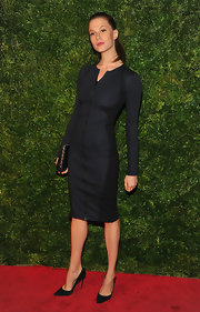 This was quite the sporty take on the LBD!