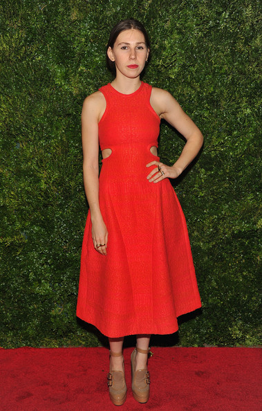 More Pics of Zosia Mamet Cutout Dress (3 of 3) - Zosia Mamet Lookbook - StyleBistro