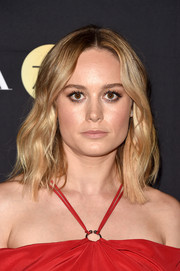Brie Larson sported a boho wavy hairstyle at the HFPA and InStyle TIFF celebration.