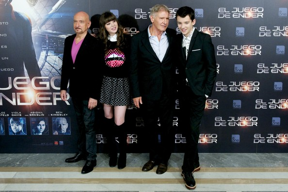 'Ender's Game' Stars Pose in Madrid — Part 2