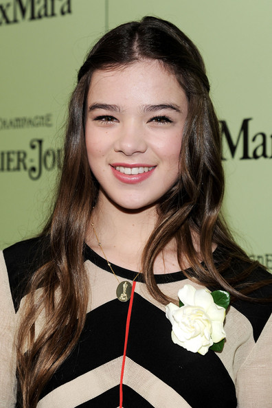 Hailee Steinfeld Half Up Half Down [fourth annual women in film pre-oscar cocktail party,hailee steinfeld,west hollywood,california,soho house,perrier-jouet,red carpet]