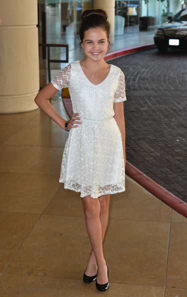 More Pics of Bailee Madison Classic Bun (1 of 15) - Bailee Madison Lookbook - StyleBistro