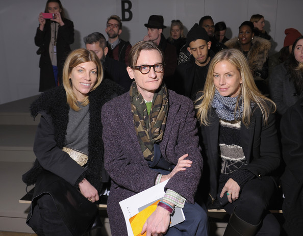 Louise Goldin - Front Row - Fall 2013 MADE Fashion Week