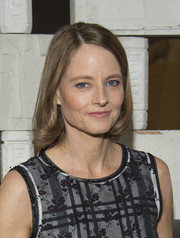 Jodie Foster went for a demure bob at the Hammer Museum Gala in the Garden.