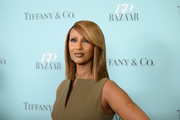 Iman showed off a sleek straight cut with side-swept bangs at the Harper's Bazaar 150th anniversary party.