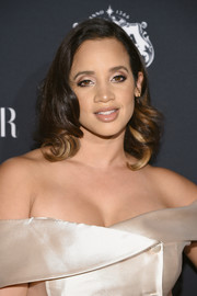 Dascha Polanco looked ultra glam with her vintage-inspired curls at the Harper's Bazaar Icons event.