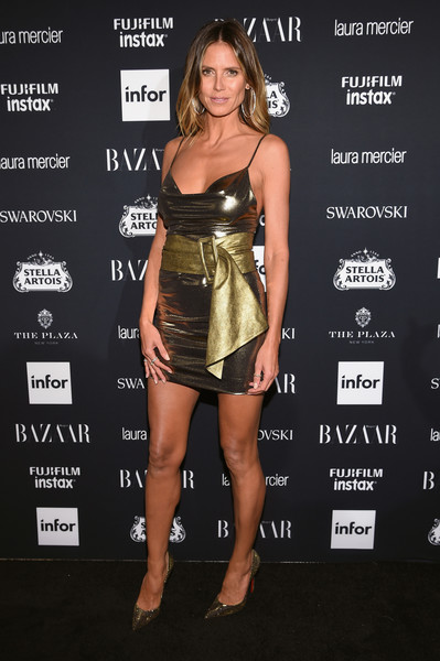 In Redemption At The 2017 Harper's Bazaar Icons Event