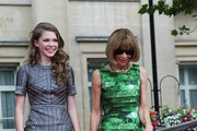 (UK TABLOID NEWSPAPERS OUT) Anna Wintour attends the world premiere of Harry Potter and the Deathly Hallows Part 2 at Trafalgar Square on July 7, 2011 in London, England.