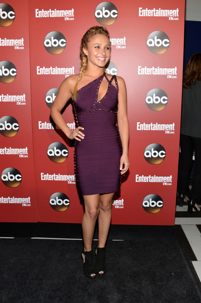 Hayden Panettiere Bandage Dress