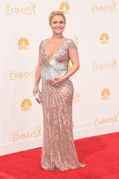 Hayden Panettiere Maternity Dress