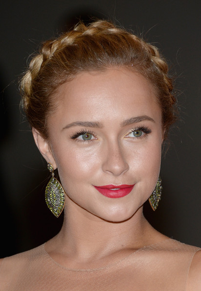 Hayden Panettiere Braided Updo