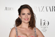 Hayley Atwell Beaded Clutch
