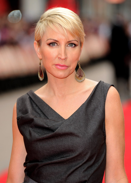 Heather Mills Short Straight Cut