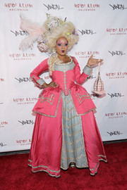 June Ambrose looked both impressive and creepy as Marie Antoinette during Heidi Klum's Halloween party.