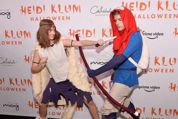 More Pics of Barbara Palvin Cape (1 of 5) - Barbara Palvin Lookbook - StyleBistro [video,fashion,talent show,event,photography,recreation,carpet,performance,costume,svedka vodka,arrivals,heidi klum,cath\u00e9drale new york,new york,20th annual halloween party,amazon prime,l,halloween party]
