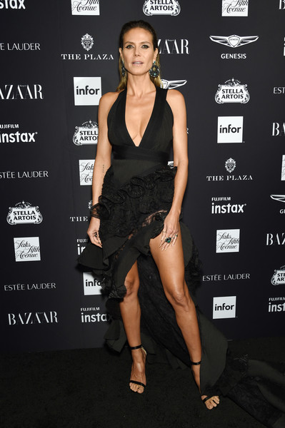 Heidi Klum Fishtail Dress