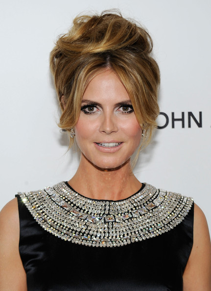 Heidi Klum False Eyelashes