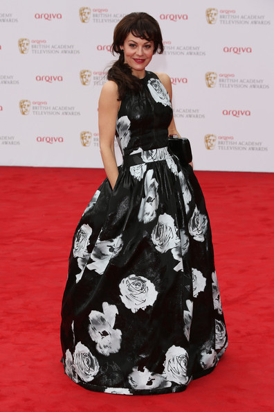 Helen McCrory Print Dress