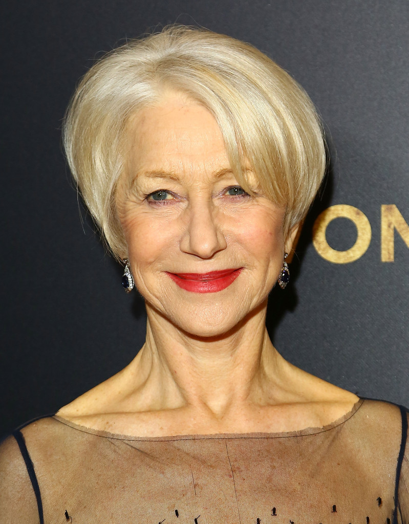 Helen Mirren Bob Short Hairstyles Lookbook