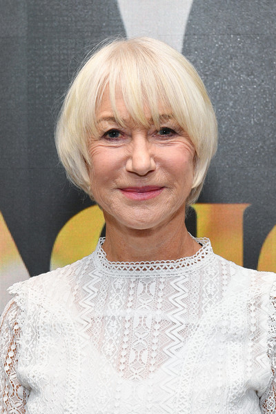 Helen Mirren Bowl Cut