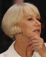 Helen Mirren attended a Senate Judiciary Subcommittee hearing wearing her signature bob with bangs.