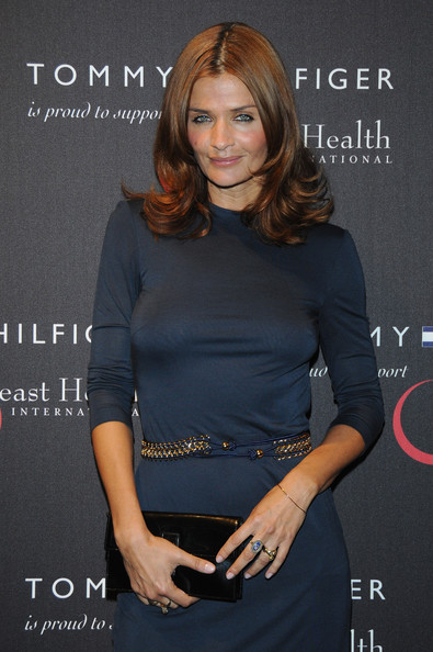Helena Christensen Metallic Belt