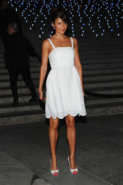 Helena Christensen Day Dress