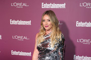 Hilary Duff Embellished Top