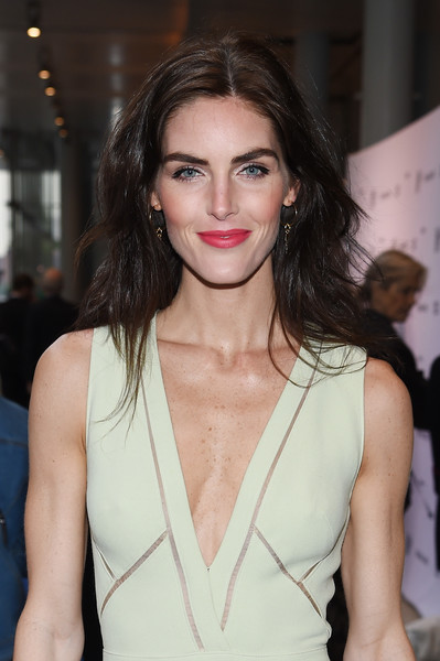 Hilary Rhoda Teased [hair,fashion model,lip,hairstyle,beauty,fashion,shoulder,long hair,fashion show,brown hair,whitney museum celebrates annual spring gala,hilary rhoda,whitney museum,new york city,studio party,spring gala]