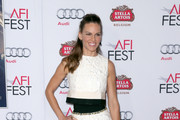 Hilary Swank Mini Skirt